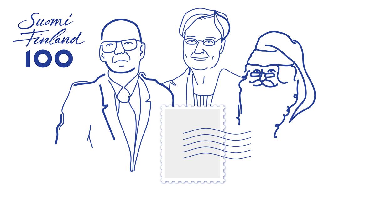 Postimerkki Ruotsiin