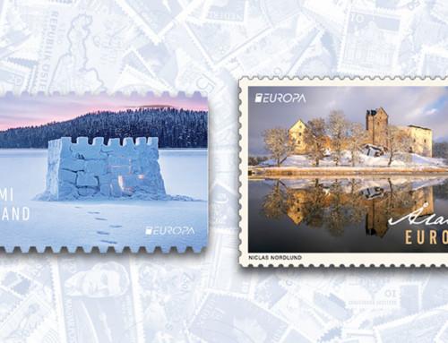 Suomen ja Ahvenanmaan Europa-postimerkit kauneimpia