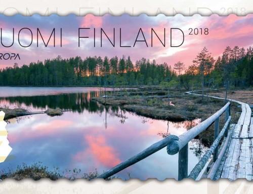 Suomalainen postimerkki voitti hopeaa PostEuropin kilpailussa
