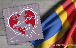 Ahvenanmaa julkaisee oman Postcrossing-postimerkin